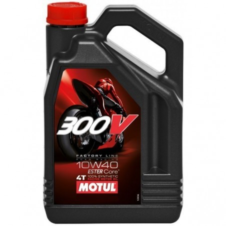 300V COMPETITION 10W40 MOTO 4 LITRES