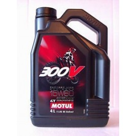 300V COMPETTION 15W60 OFF ROAD MOTO 4 LITRES